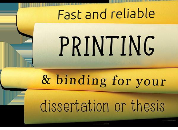 leamington spa dissertation binding