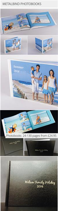 Create your very own personalised Photobook.