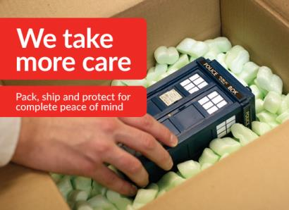 Pack, ship and protect for complete peace of mind