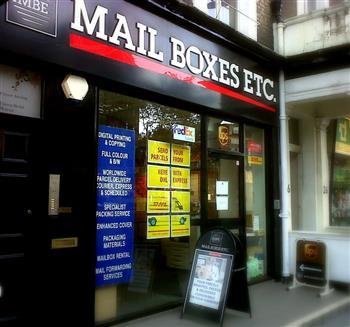Contact Us at Mail Boxes Etc  London - South Kensington