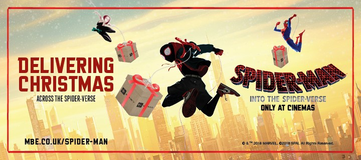 Delivering Christmas Across the Spider-verse