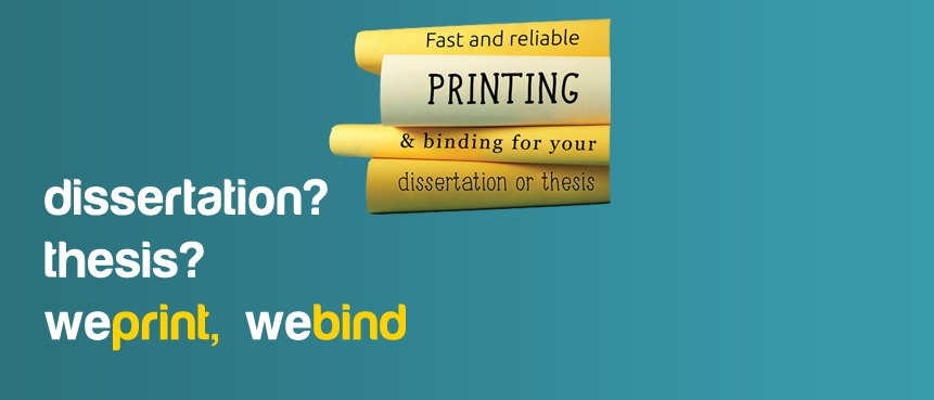 dissertation binding services edinburgh Teviot print shop - digital printing based in teviot row house on bristo square, edinburgh for students and businesses.