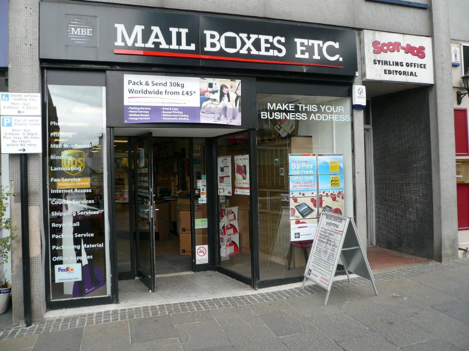 Mailbox Rental Stirling | Parcel Delivery Stirling - Mailboxes Etc