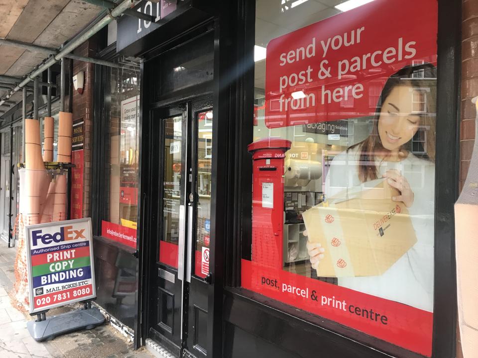Mailboxes Etc Clerkenwell London - Shipping, Printing, Posting